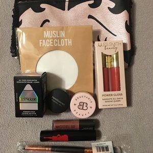 Large Beauty Bundle Mascara, blush etc